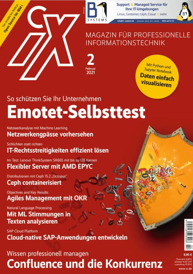 iX - Magazin für professionelle Informationstechnik