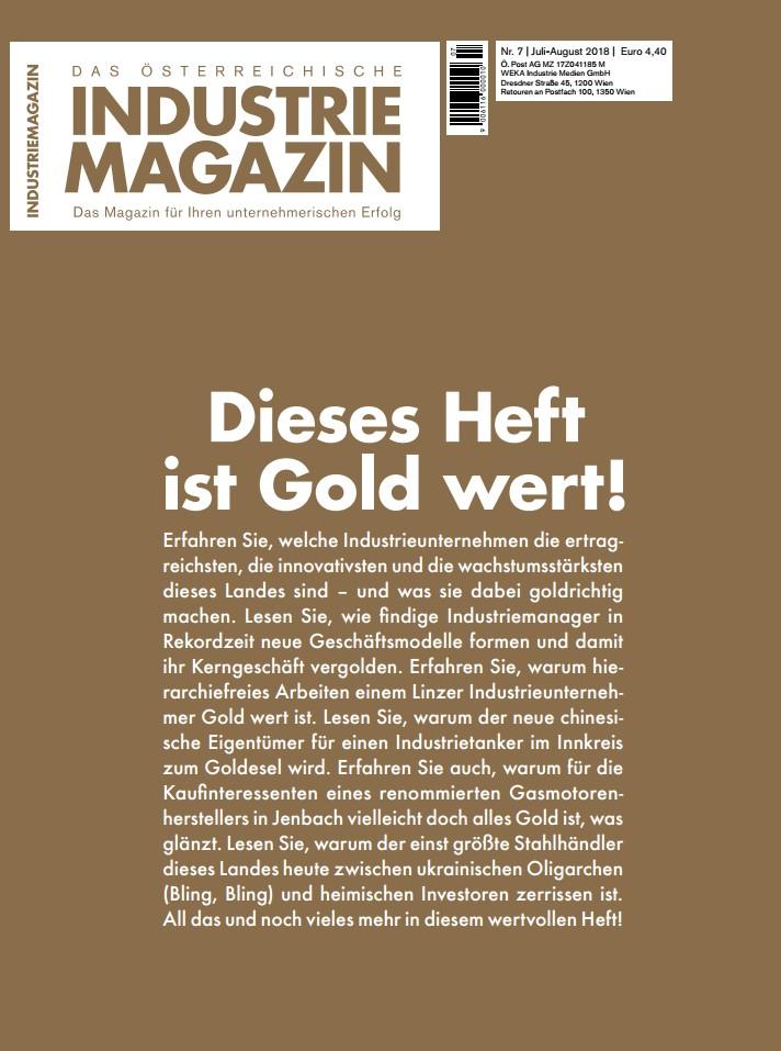 Das österreichische Industriemagazin