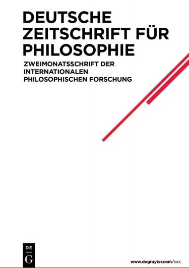 Deutsche Zeitschrift für Philosophie