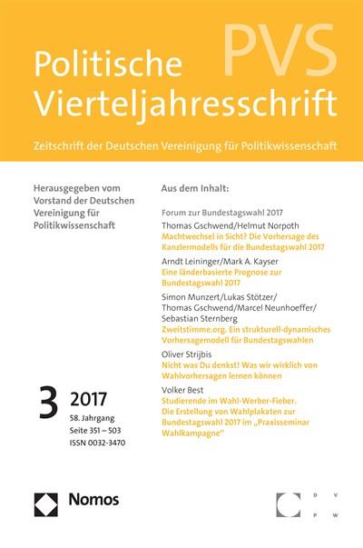 PVS Politische Vierteljahresschrift