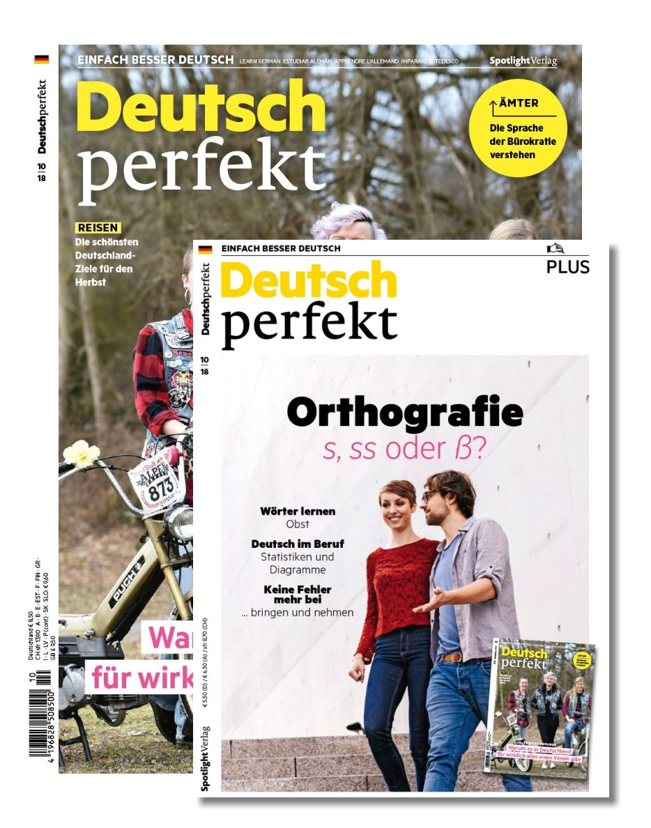 Deutsch perfekt plus