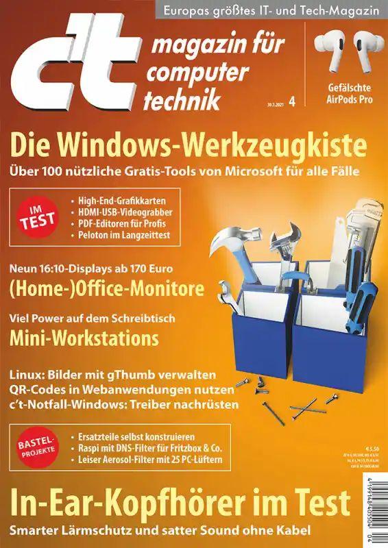 c't - magazin für computertechnik