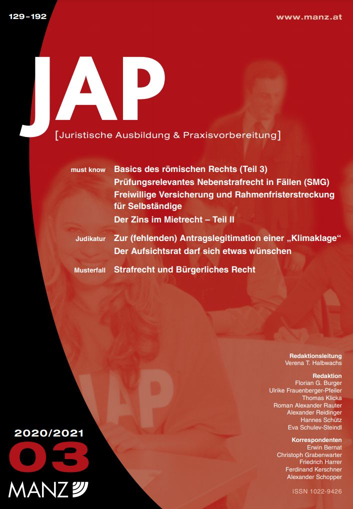 JAP Juristische Ausbildung und Praxisvorbereitung