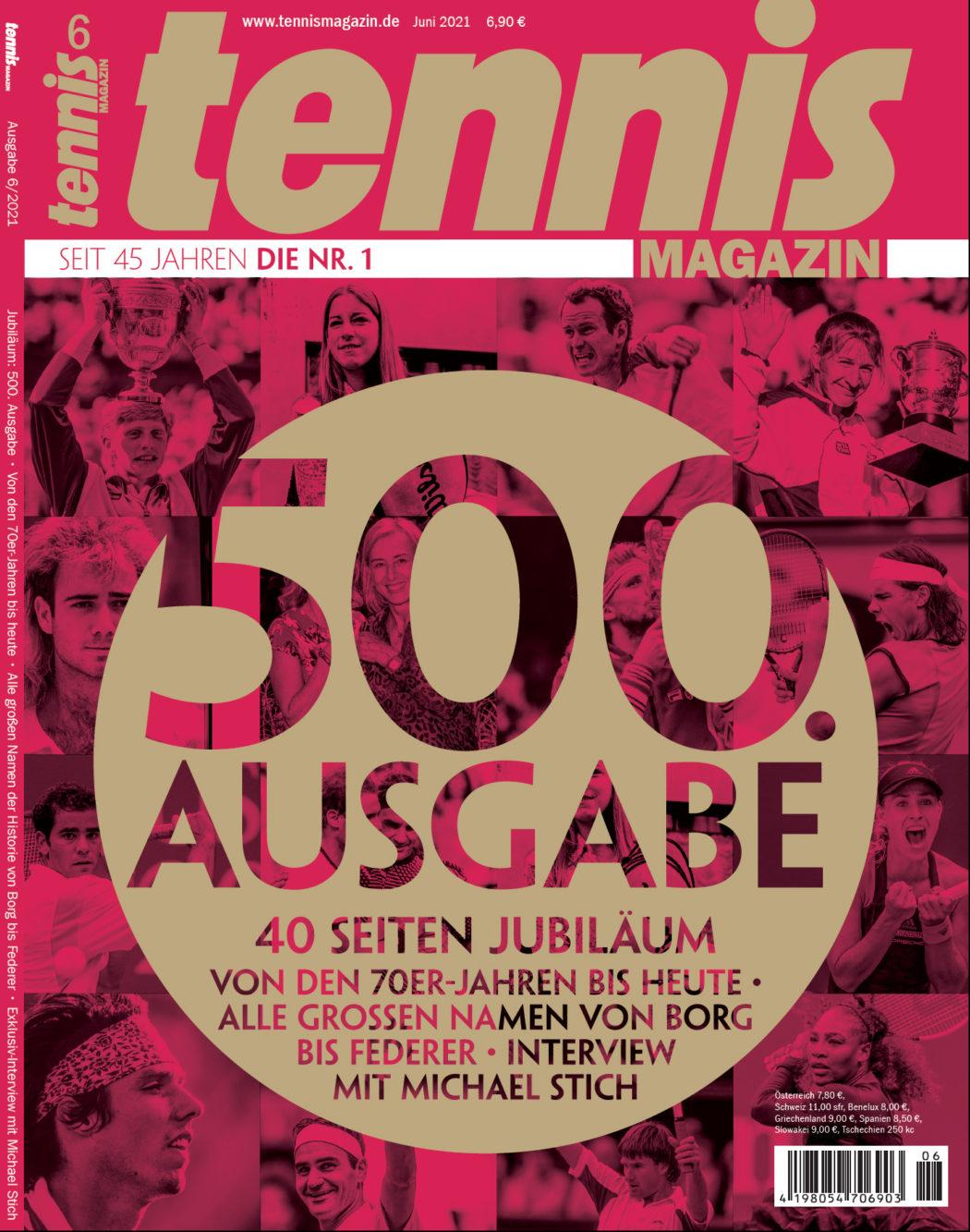 tennis magazin Studentenabo